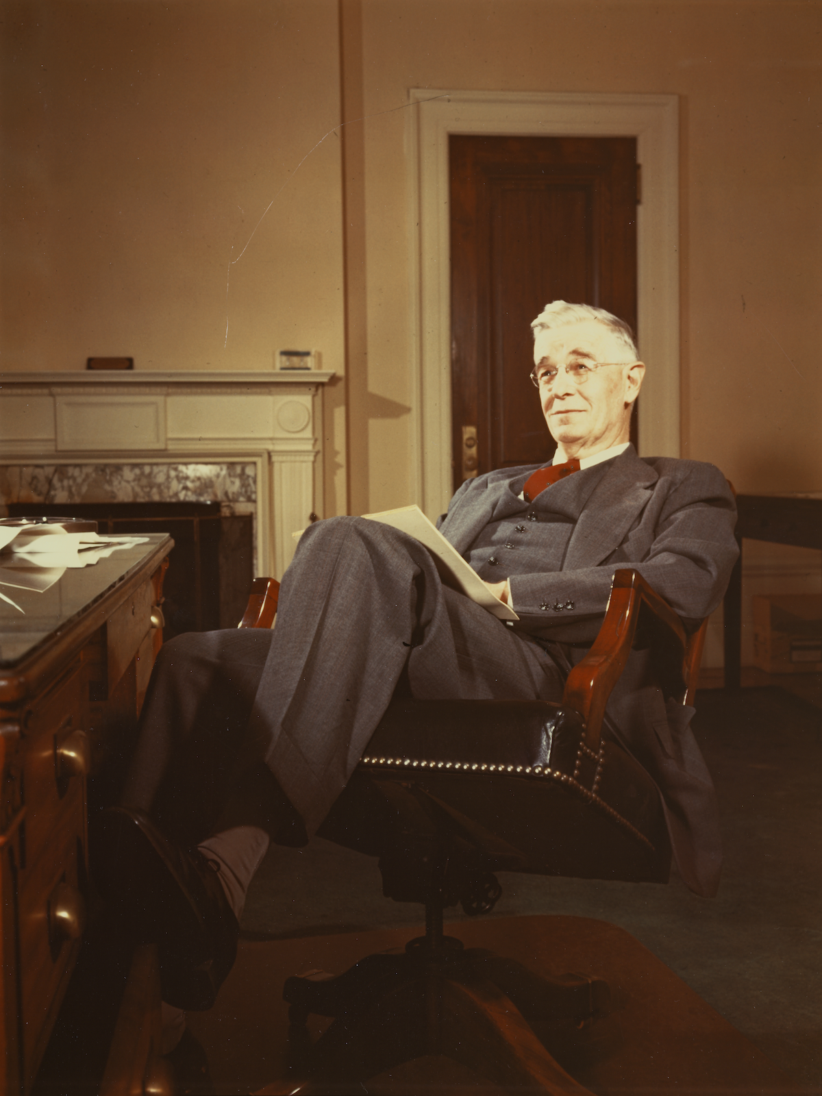 Vannevar Bush Photograph by Threshold Studio, Courtesy of Carnegie Institution for Science Administrative Archives
